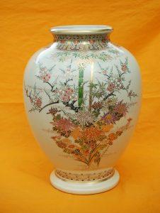 白薩摩 花瓶
